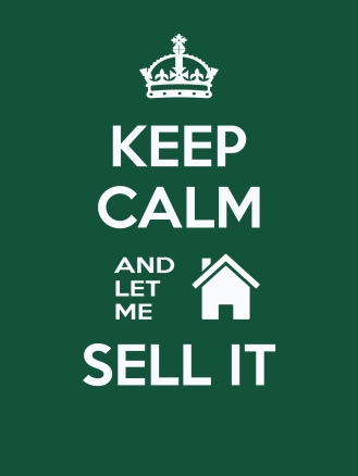 Dark Green Realtor Keep Calm
